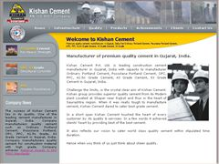 Kishan Cement Pvt. Ltd. is leading construction cement manufacturer in Gujarat. Company mfrs premium quality cement manufacturer like Ordinary Portland Cement, Pozzolana Portland Cement, OPC, PPC, 42.5n Grade Cement, 43 Grade Cement, 53 Grade Cement in Gujarat, India