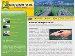 Major Cement Pvt. Ltd. is leading construction cement manufacturer in Gujarat, India,  premium quality cement manufacturer with capacity to manufacturer OPC, Pozzolana Portland Cement, OPC, PPC, 42.5n Grade Cement, 43 Grade Cement, 53 Grade Cement in Gujarat, India